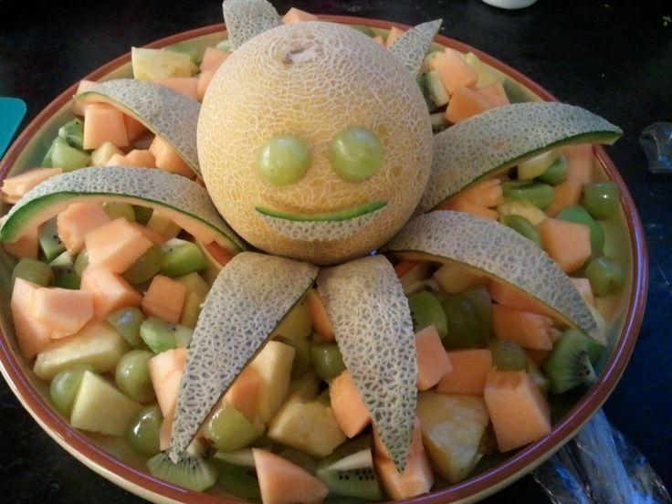 Octopus's garden fruit salad - Beatles party