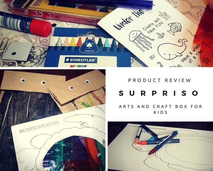 Surpriso Arts and Craft Product Review