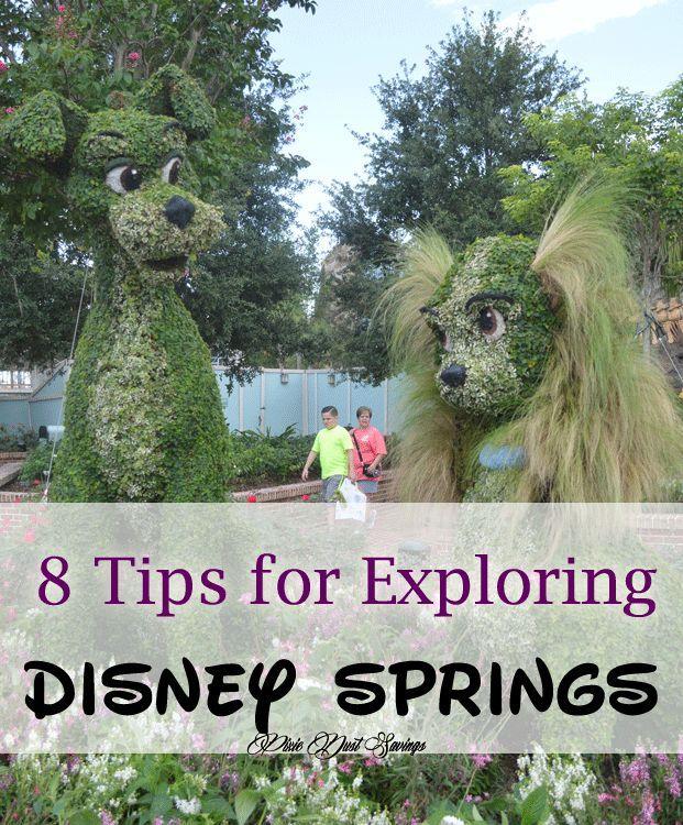 8 Tips for Exploring Disney Springs {Downtown Disney}