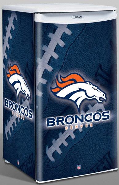 Denver Broncos Counter Top Fridge