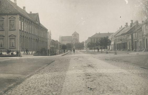 Trondheim, Norway in circa 1870