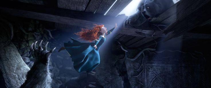 "New still from Pixar's new movie ""Brave""."