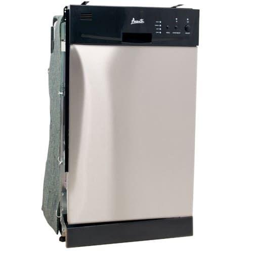 Avanti DW18D 18 Built-In Energy Star Dishwasher- SS (Stainless Steel (Silver))