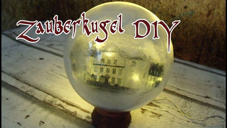 Zauberkugel Harry / geheimnisvolle  Lichtkugel zur Deko selber basteln DIY [Tutorial in deutsch] #Harry Potter