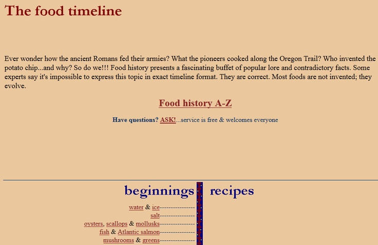 91 best Culinary History Love images on Pinterest | 18th century, Food network/trisha and History