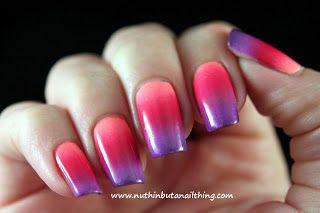 gradient nails tutorials and tips