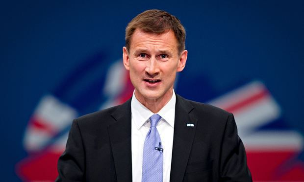 Jeremy Hunt speaks at the NHS Confederation conference