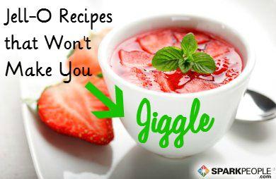 Jell-O Recipes That Won't Make You Jiggle | via @SparkPeople #recipe #jello #gelatin #snack #dessert