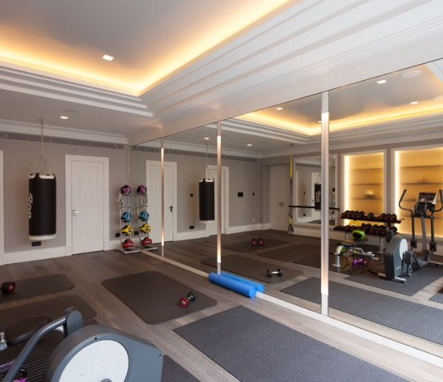 14 best Home gym inspiration images on Pinterest | Ceilings, At ...