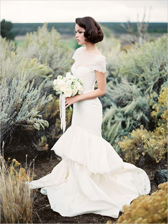 classic bridal looks photographed by @Erich Mcvey featured on @wedding chicks