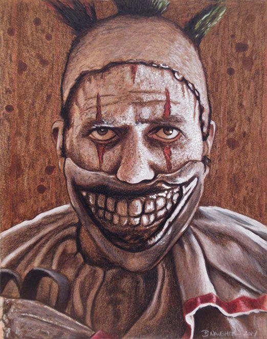 Twisty The Clown by Brent-Naughton-17.deviantart.com on @DeviantArt