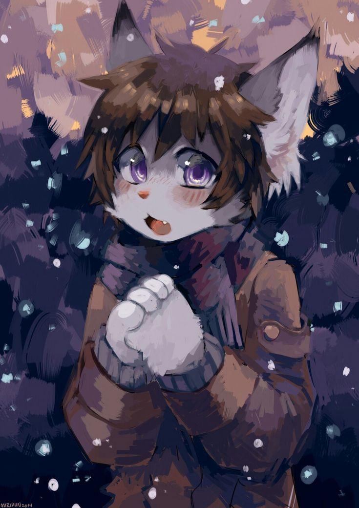 Snow!! - by Miri  on FurAffinity