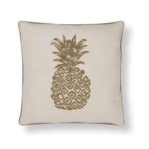 Pineapple Beaded Cushion