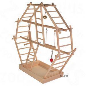 Wooden Ladder Playground, Large