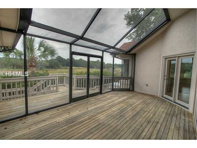 Private Enclosed Deck Outdoors Outdoorliving Enclosed