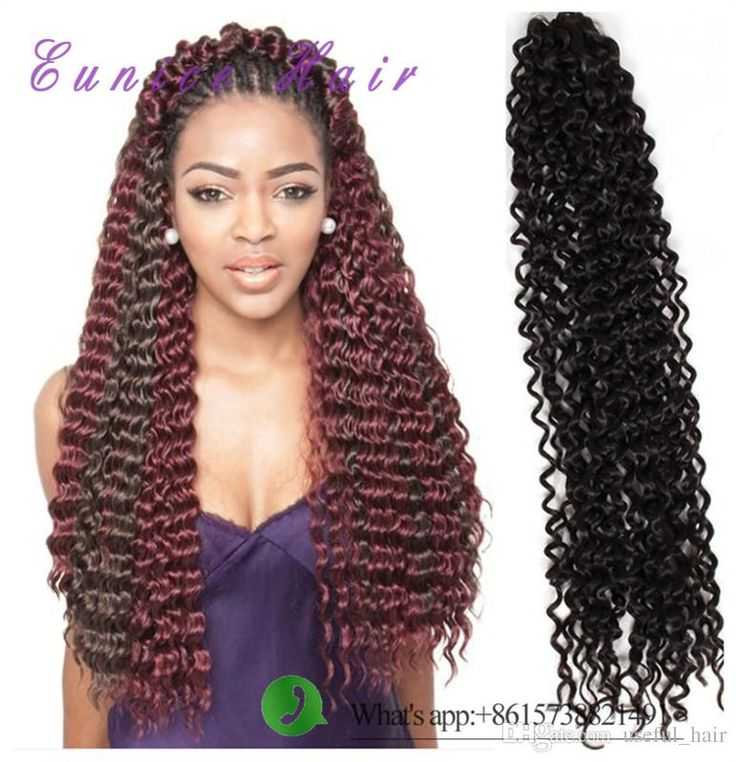 21 best freetress water wave syntehtic hair extension images on 18inch freetress hair water wave blonde extensions blackbrown bulk crochet latch hook braiding hair synthetic crochet hair extensions pmusecretfo Gallery