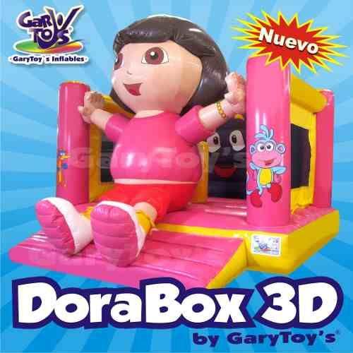 Dora Box 3d Brincolines Inflables Garytoys! - en MercadoLibre