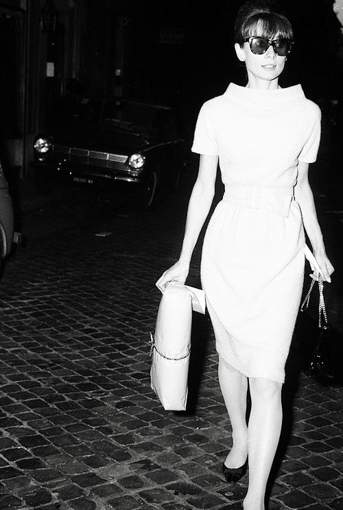 Audrey Hepburn, Rome 1960's by Rino Barillari
