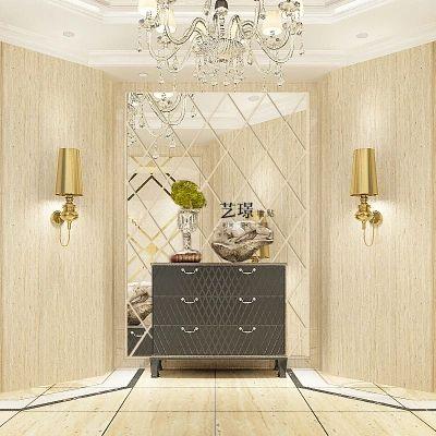 Цзин - Акриловые алмаз наклейки трехмерное настенное зеркало гостиной вход ТВ фоне ресторан декоративные зеркала J - Taobao
