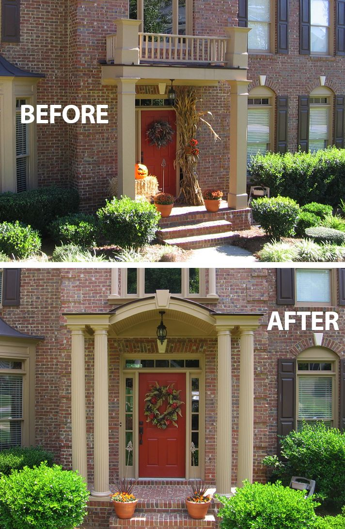 40 Best Curb Appeal Before Amp After Images On Pinterest