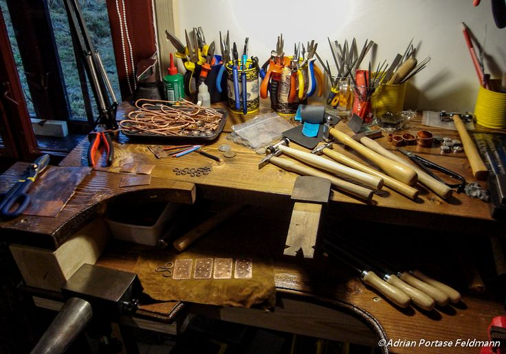 My jewelry work bench solarisartstudio.com