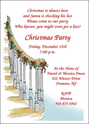 36 best Christmas Party Invitations images on Pinterest - free xmas invitations