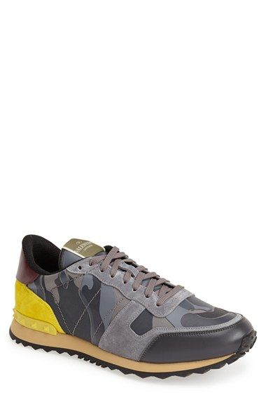 Valentino+'Rockrunner'+Camo+Sneaker+(Men)+available+at+#Nordstrom