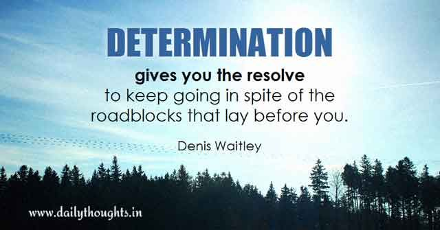 Daily Quotes About Determination. QuotesGram