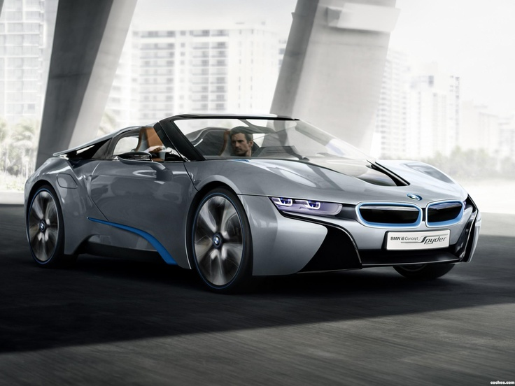 BMW i8 spyder concept 2012: Bmwi8, I8 Concept, Concept Spyder, Bmw I8, Spyder Concept, I8 Spyder, Awesome Cars, Electric Cars, Dreams Cars