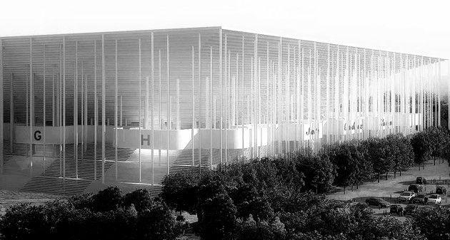Herzog et De Meuron - Stade Bordeaux