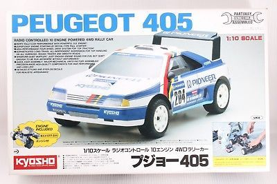 KYOSHO 1:10 Scale  PEUGEOT 405  4WD  RC KIT  Ultra Rare