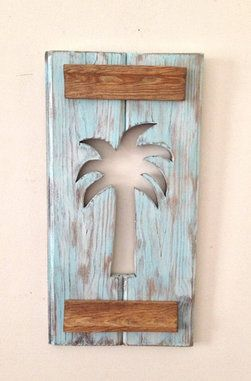 Palm Tree Wall Hanging