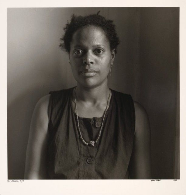 """Sapphire - Author & Performance Poet, founded """"Naps"""" (first black lesbian performing group in the country)"""