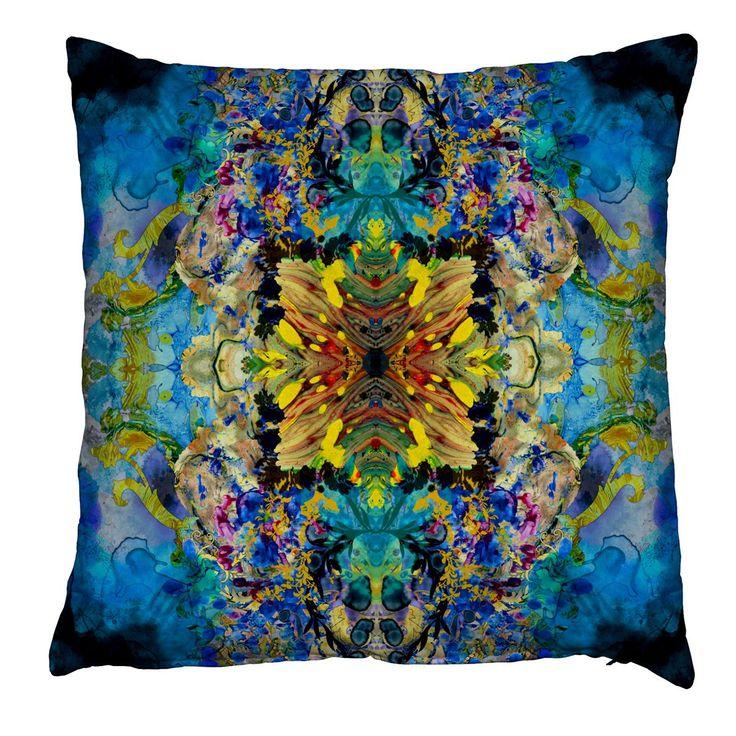 Marble Damask cushion
