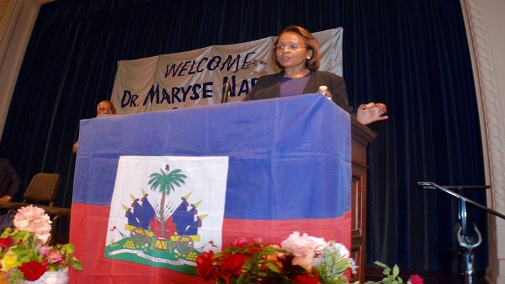 Dr. Maryse Narcisse, Haiti's presidential candidate of Fanmi Lavalas - C...
