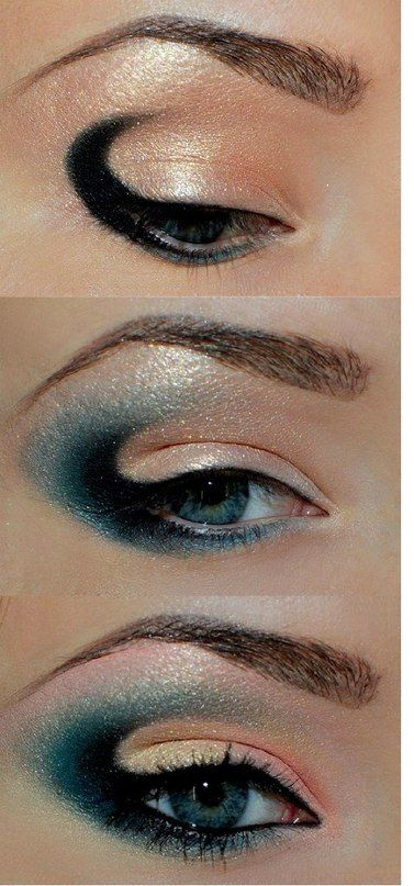I wish I could pull this off... I still haven't perfected the smoky eye lol