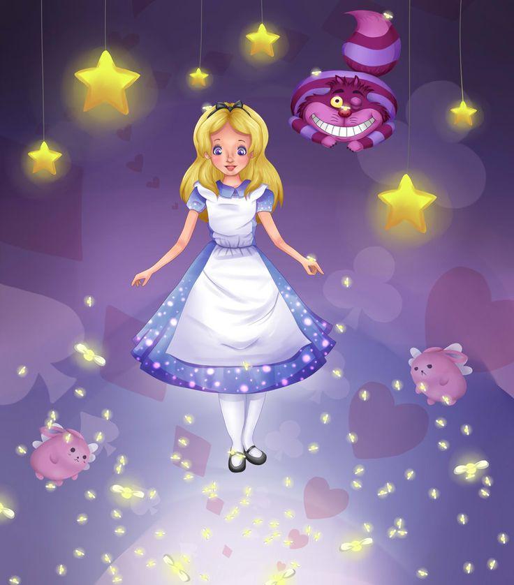 Alice I Vidunderland Tegneserie Cheshire Kat