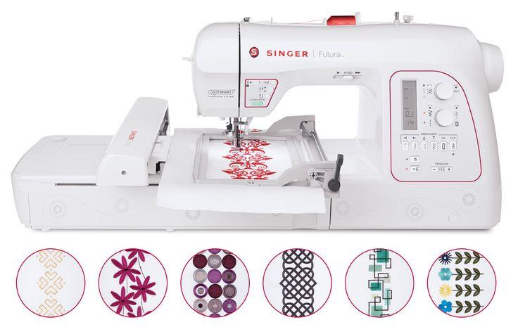 Singer XL-580 Futura Emboidery Machine, , hi-res (My dream machine)