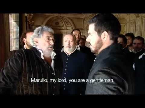 Placido Domingo as Rigoletto (English subtitles)
