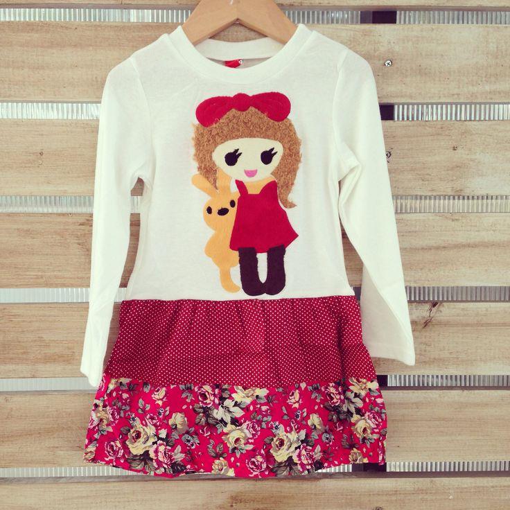 Vestido 100% algodón www.ilovelou.cl