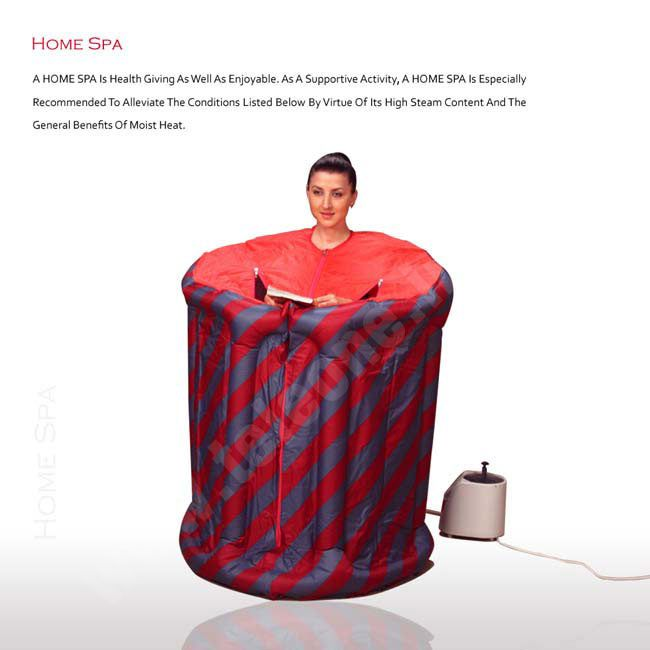 Home Spa ( Sauna Steam Bath )  From Teleshop : - Help To Overcome The Stresses Of Everyday Life.
