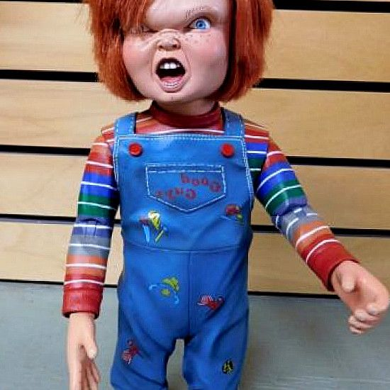 "comics-figurines.us: Child s Play 3 Chucky 12  Action Figure w/sound: Toys & Games. Child s Play 3 Chucky 12"" Action Figure w/sound. Click to open exped view. NECA. Good Guys Chucky (Child s Play) Talking Doll by Child s Play. Buy Chucky Action Figure from Child s Play 3 by NECA: Action Figures - comics-figurines.us ✓ FREE DELIVERY. Child s Play Talking Good Guy Chucky 15  Doll. #hero #comics #DCComics #DC #Marvel #figurines #Collectibles #gifts #collect"