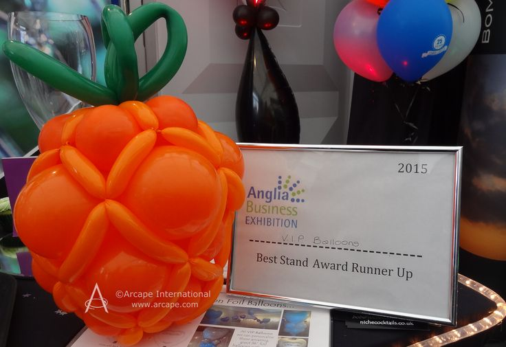 Congratulations to @VIPBalloons!  Best Stand Award Runners up!
