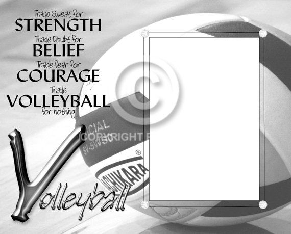 Unframed8x10 Volleyball Inspired Photo by SapphireCustomPhotos, $10.00