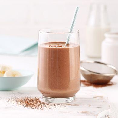 Smoothie rassasiant choco-bananes - Recettes - Cuisine et nutrition - Pratico Pratique