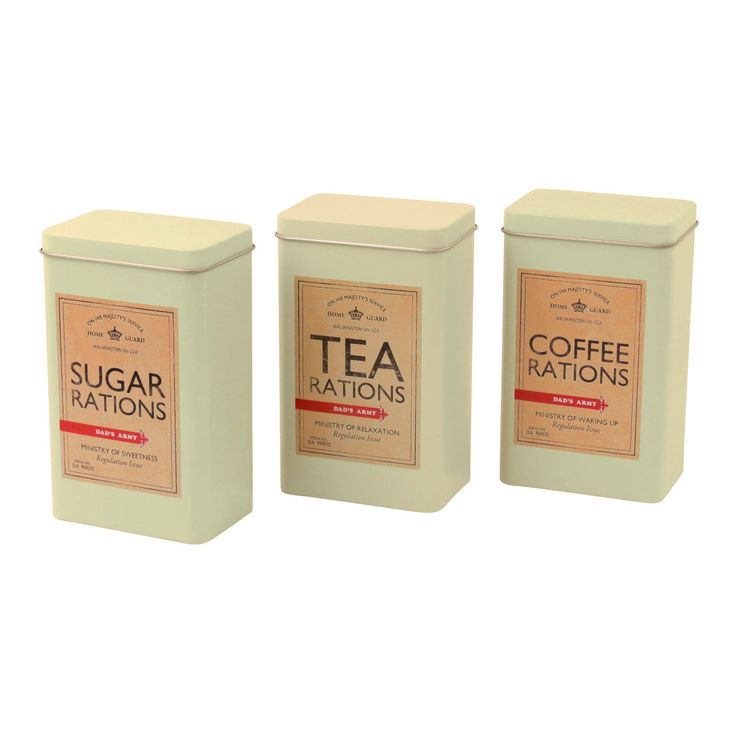 Image result for vintage tea coffee sugar canisters