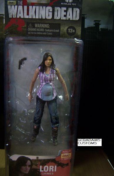 Lori Grimes Season 3 (Walking Dead) Custom Action Figure ...