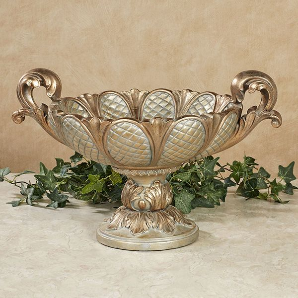 Calissa Ornate Decorative Centerpiece Bowl Centerpiece Bowl Decorative Pillows Christmas Decorative Bowls