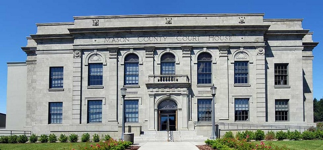 1929 Mason County courthouse, Shelton WA by ronsipherd, via Flickr