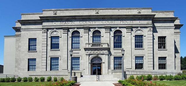1929 Mason County courthouse, Shelton WA by ronsipherd, via Flickr